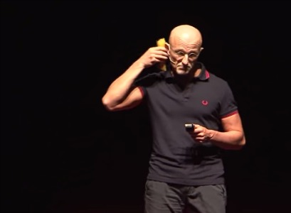Dr. Sergio Canavero at a TEDTalk